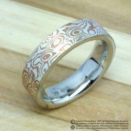Mokume Gane ring