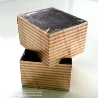 การผลิต ก้อน โมกุเม่ กาเน่ (Mokume Gane Billet)