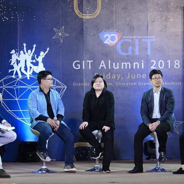 PONK SMiTHi ร่วมแสดงความยินดีกับ GIT ในวาระโอกาสครบรอบ 20 ปี